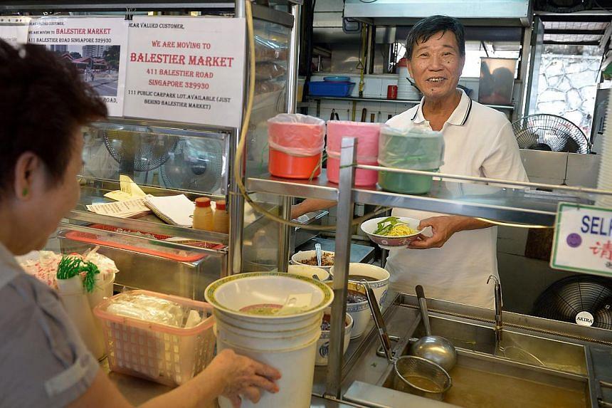 Ah Hui Big Prawn Noodle. -- ST PHOTO: KUA CHEE SIONG