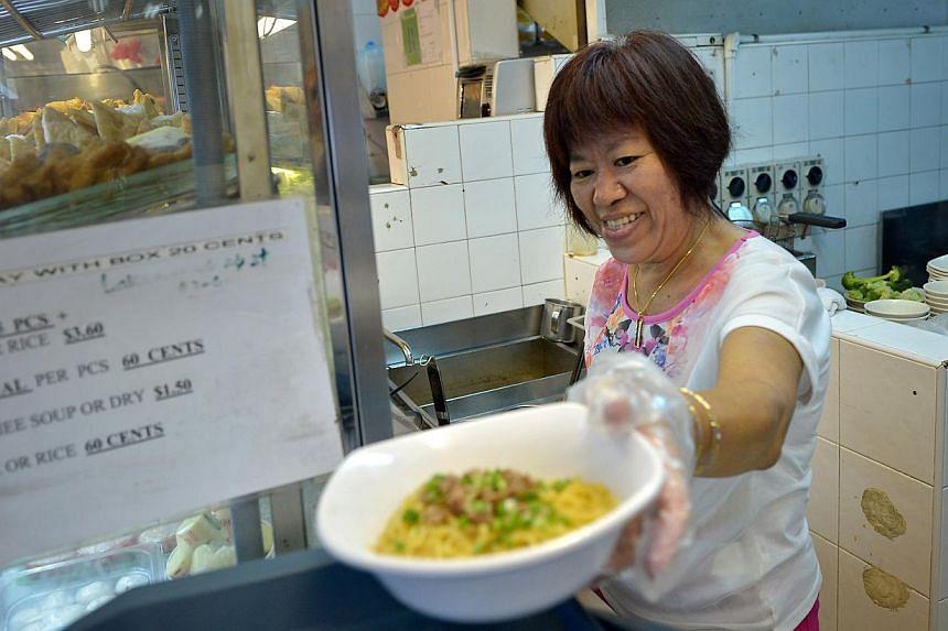 Lucy Pang Yong Tau Foo. -- ST PHOTO: KUA CHEE SIONG