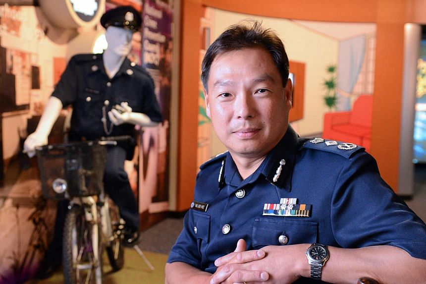 Police Commissioner Ng Joo Hee