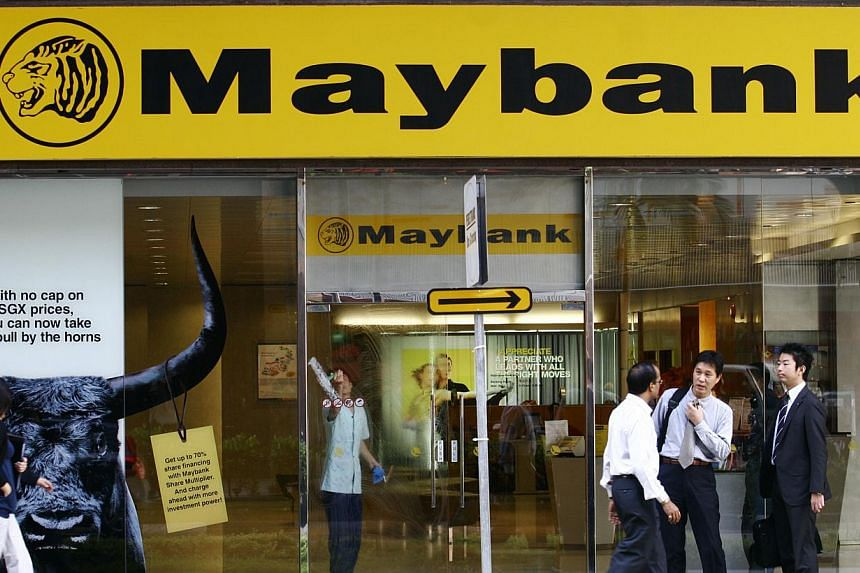 MAYBANK announced at the Invest Asean Conference on Tuesday that it will be shifting its focus to concentrate more on corporate banking. -- ST FILE PHOTO: MARK CHEONG