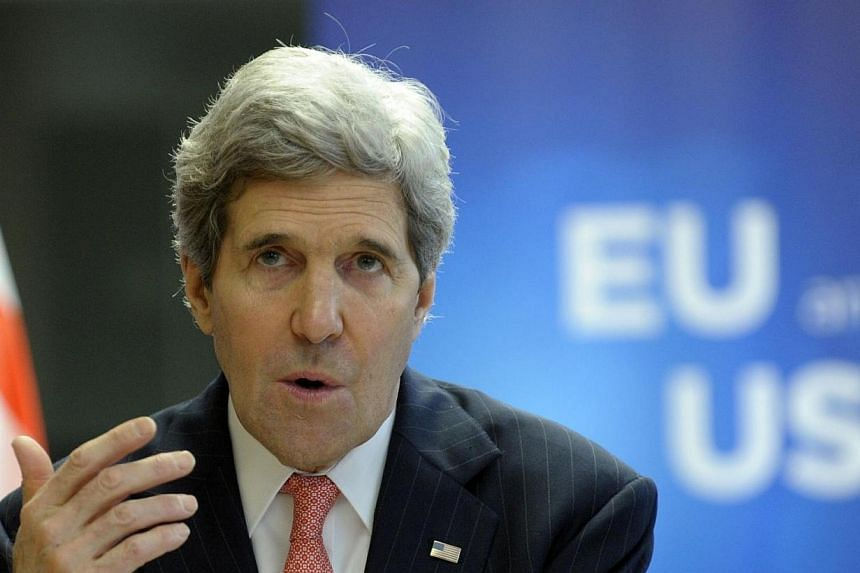 US Secretary of State John Kerry was scrambling on Wednesday, April 2, 2014, to save his faltering Middle East peace efforts, after both Israel and Palestinians delivered him a stunning slap in the face. -- PHOTO: REUTERS