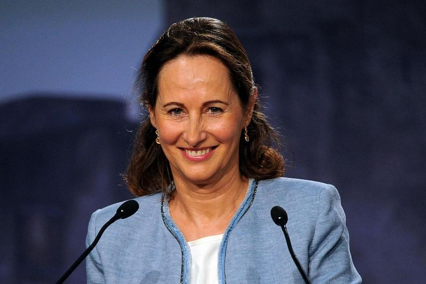 Ms Segolene Royal's appointment to a new French government is the latest chapter in an extraordinary saga entwining affairs of state with affairs of the heart. -- FILE PHOTO: AFP