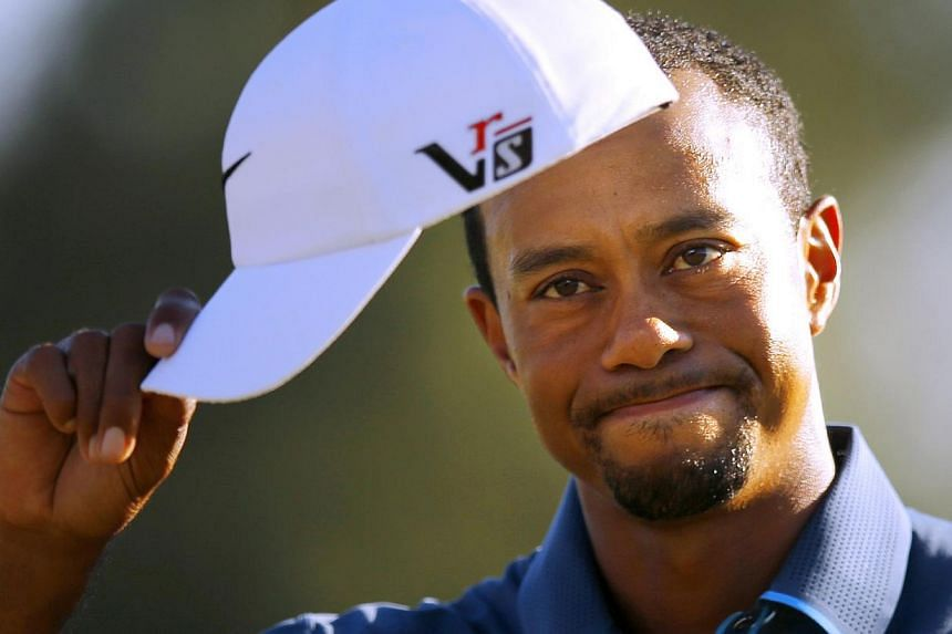 Tiger Woods at the 2013 Masters golf tournament at the Augusta National Golf Club in Augusta, Georgia, in April 2013. - FILE PHOTO: REUTERS