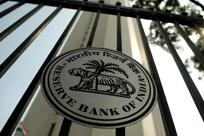 File photo of the Reserve Bank of India (RBI) head office in Mumbai. India on April 2, 2014 announced it was issuing two new bank licences for the first time in a decade as it accelerates a push to bring more Indians into the formal banking system. -