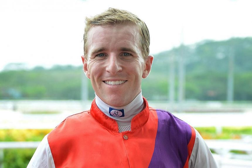 Australian jockey Nathan Berry has died in hospital just hours after he was flown home from Singapore for treatment for an epilepsy-related illness, racing authorities said on Thursday, April 3, 2014. -- NP FILE PHOTO:JEREMY LONG
