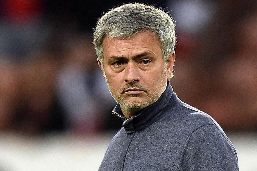 Chelsea's Portuguese manager Jose Mourinho is pictured before the UEFA Champions League quarter-final first leg football match Paris Saint-Germain vs Chelsea on April 2, 2014 at the Parc-des-Princes stadium in Paris. -- FILE PHOTO: AFP