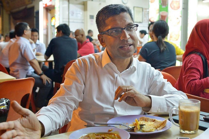 While Singapore teens have been proven to do well in problem-solving, Singaporeans still fare poorly in spoken English and lack confidence in articulating their views, said Member of Parliament Hri Kumar Nair yesterday. -- ST FILE PHOTO: ALPHONSUS CH