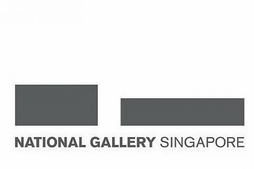 The National Gallery Singapore's new logo. -- PHOTO: NATIONAL GALLERY SINGAPORE/FACEBOOK