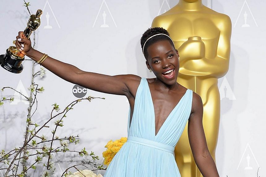 Kenyan actress Lupita Nyong'o has been named a brand ambassador for the luxury cosmetics house Lancome, the company said on Friday. -- FILE PHOTO: AFP