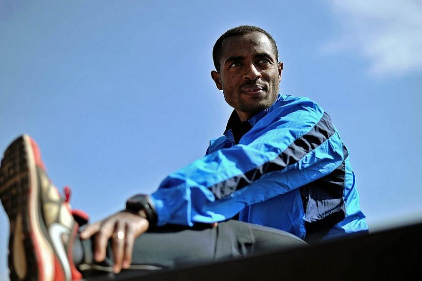 Ethiopian running great Kenenisa Bekele says he is in shape and hopeful for a win ahead of his hotly-awaited marathon debut on the streets of Paris on Sunday. -- FILE PHOTO: AFP