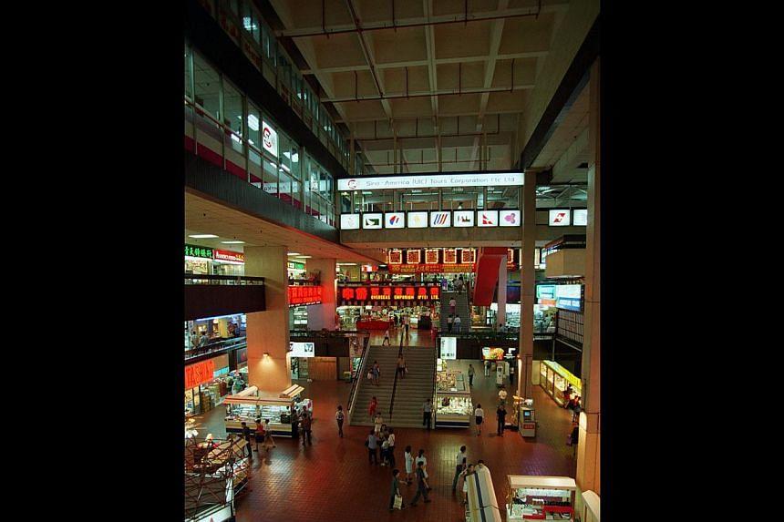 Singapore's first atrium.--PHOTO: ST FILE