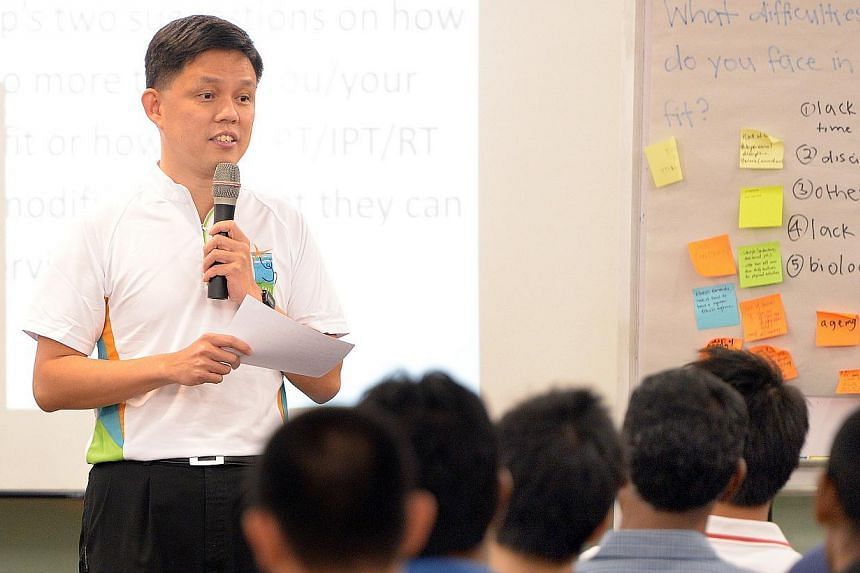 Second Minister for Defence Chan Chun Sing says the Defence Ministry is exploring ways to give NSmen more flexibility in planning their physical training.