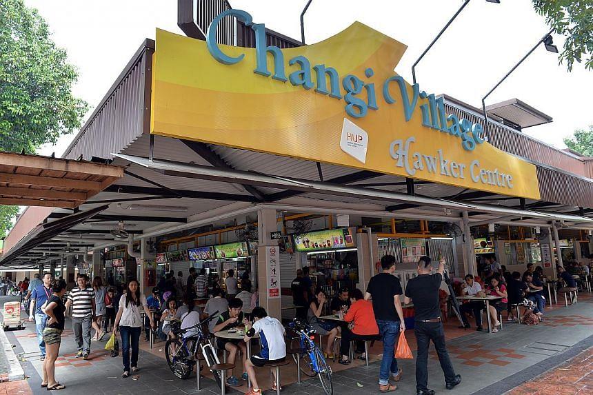 ChangiVillage. --PHOTO: BERITA HARIAN