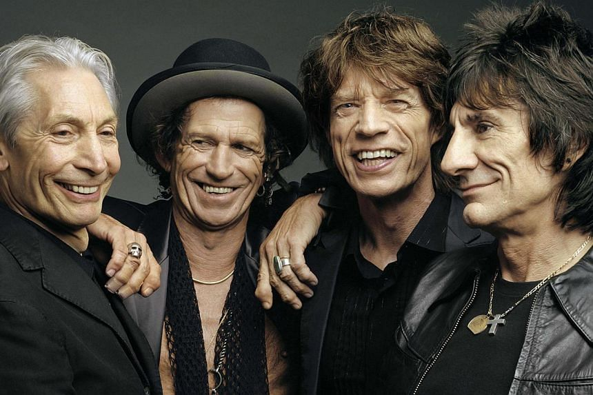 The Rolling Stones. -- FILE PHOTO: MARINA BAY SANDS