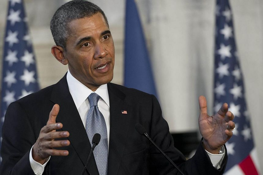 United States President Barack Obama welcomed the completion of Afghanistan's presidential vote, set to usher in the country's first democratic transfer of power, saying it was critical to ensure more international support. -- PHOTO: AFP
