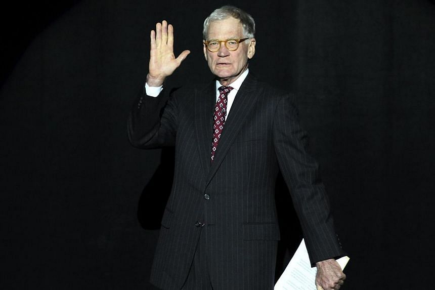 Letterman's announcement on Thursday during the taping of Late Show With David Letterman in New York that he plans to retire sometime in 2015, when his contract expires, represents the latest upheaval in a changing of the US television's late-night g