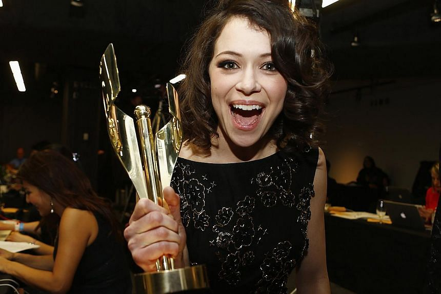 For her role as Sarah Manning in Canadian series Orphan Black, Tatiana Maslany won the award for Lead Dramatic Actress at the 2014 Canadian Screen awards in Toronto last month.