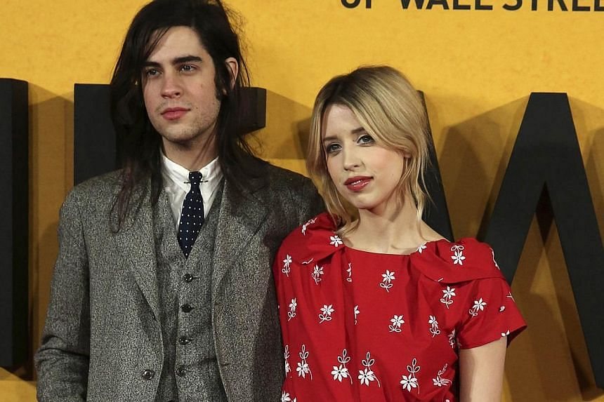 TV presenter Peaches Geldof (right) and husband Thomas Cohen arrive for the U.K. premiere of The Wolf of Wall Street at Leicester Square, in London in this Jan 9, 2014 file photo. -- PHOTO: REUTERS