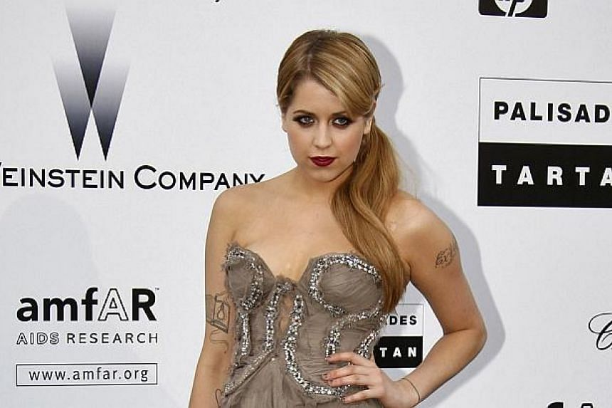Socialite Peaches Geldof arrives for the amfAR's Cinema Against AIDS 2009 event in Antibes during the 62nd Cannes Film Festival in this May 21, 2009 file photo.-- PHOTO: REUTERS