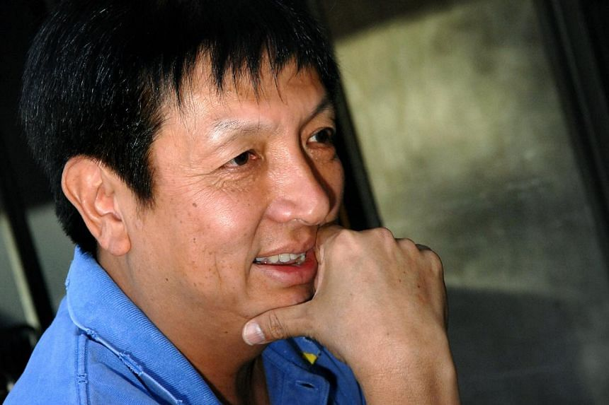 File photo of former remisier king Mr Peter Lim. -- PHOTO: SPH