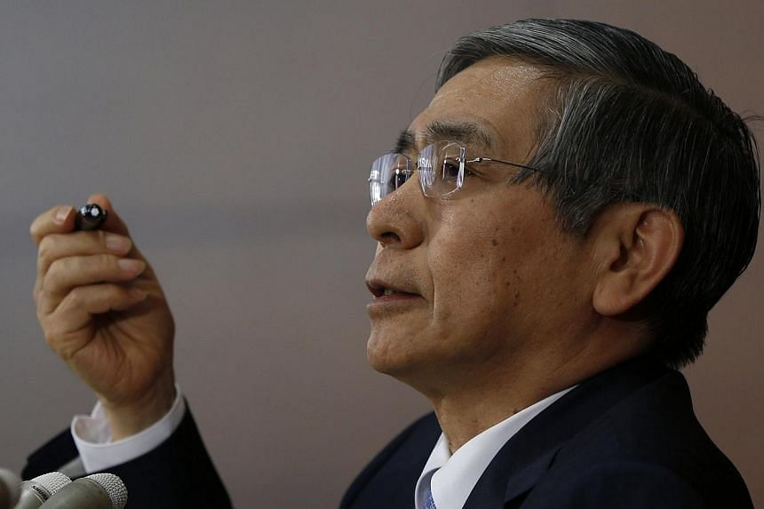 Bank of Japan (BOJ) Governor Haruhiko Kuroda stuck to his guns on Tuesday, April 8, 2014, saying a positive cycle is in the works for the economy, which is poised to weather last week's sales tax hike and hit the central bank's inflation target. -- P