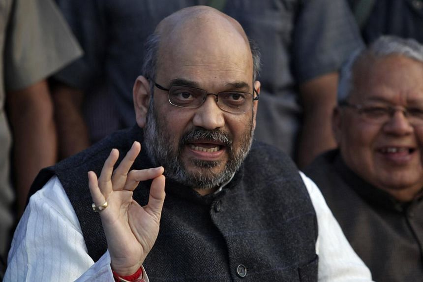 Amit Shah, a portly and bearded 50-year-old, has become Modi's closest confidante and key political manager. He is widely expected to take a senior role in any future Modi-run administration. -- FILE PHOTO: REUTERS