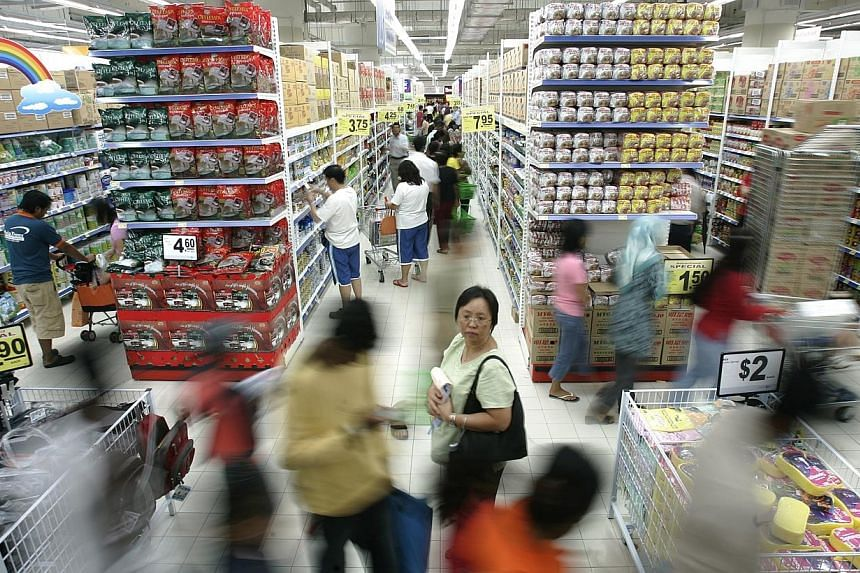 Singapore's supermarket chain NTUC FairPrice (FairPrice) is Southeast Asia's most valuable retail brand with an estimated brand value of US$1.52 billion, according to a brand report. -- SPH FILE PHOTO:LIM WUI LIANG