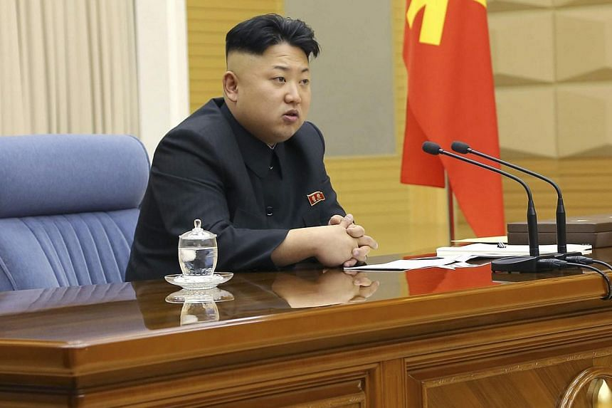 """Kim Jong Un was """"re-elected"""" as North Korea's leader on Wednesday, state media said, as parliament opened a session expected to endorse personnel changes after the shock execution of his once-powerful uncle. -- FILE PHOTO: REUTERS"""