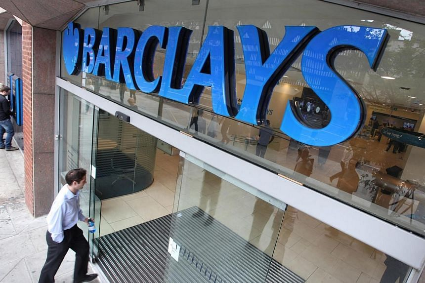 Barclays Bank Plc has topped the list of the most complained-about British bank, although the number of reported grievances against financial services companies has fallen by 15 per cent overall. -- FILE PHOTO: BLOOMBERG