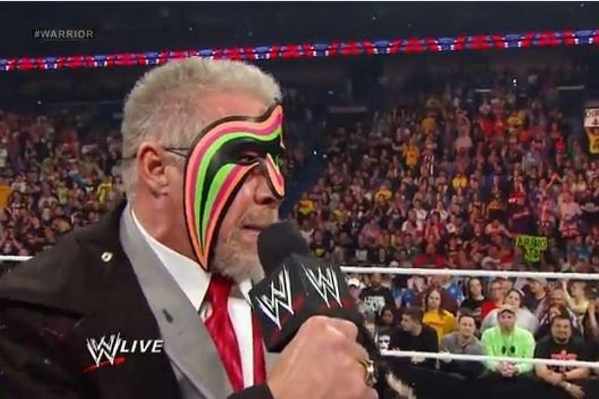 The Ultimate Warrior, one of United States professional wrestling's most celebrated athletes, has died at the age of 54, days after being inducted into the World Wrestling Entertainment (WWE) Hall of Fame, the company said late on Tuesday, April 9, 2