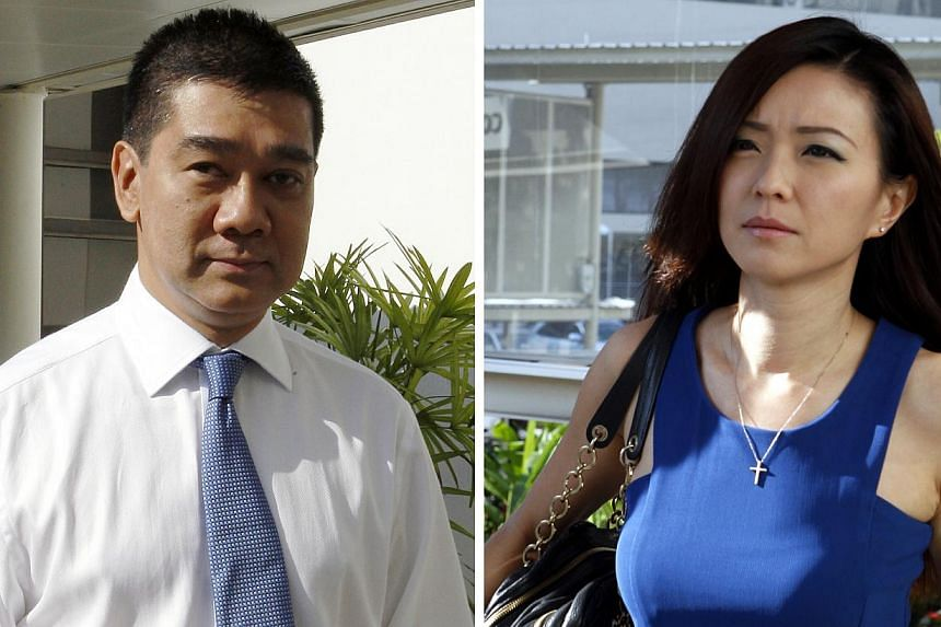 "Mr Andre Maniam said his client, Serina Wee, had not been dishonest and could not be guilty of criminal breach of trust since the ""church money was used for church purposes"". -- ST PHOTOS: WONG KWAI CHOW"