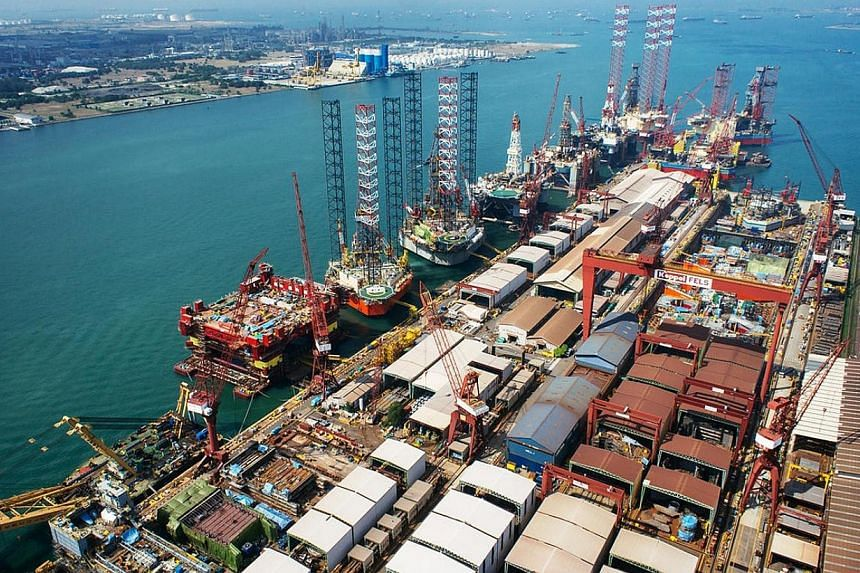 Kepepl O&M has signed a management services agreement with Titan Petrochemicals Group (Titan) to manage the Titan Quanzhou Shipyard (TQS) for a 30-year period.-- PHOTO: KEPPEL