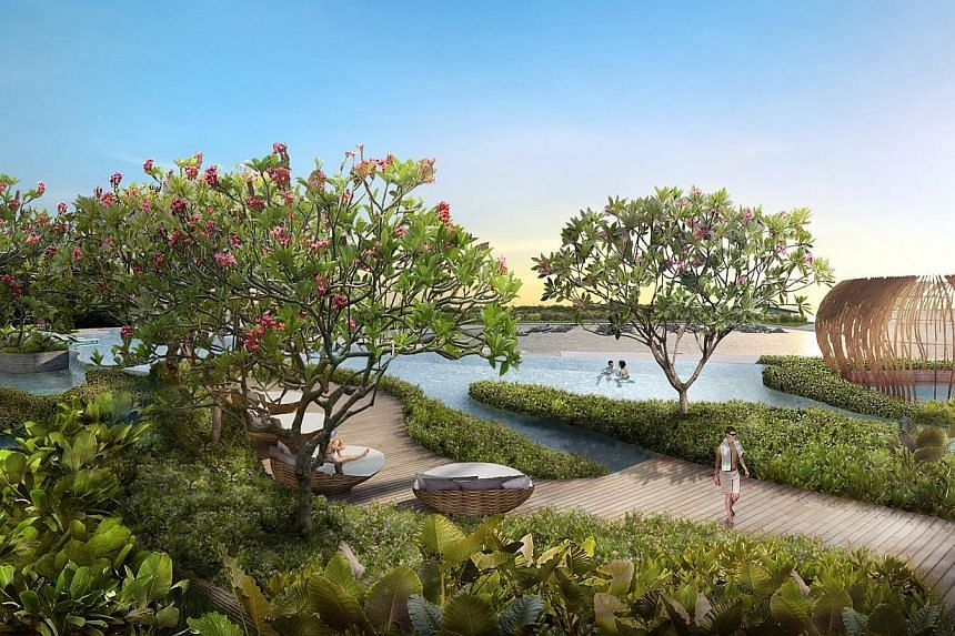 Artist's impression of Puteri Cove Residences.-- FILE PHOTO: PACIFIC STAR GROUP