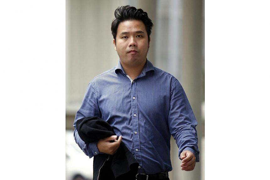 Yan Khek Yong Terence, 29, accused for criminal breach trust, as an property agent cheating a retiree Chan Kee Kok, property at Simei of the amount of $559,200. Yan took the stand for the first time on Thursday to answer charges that he misappro