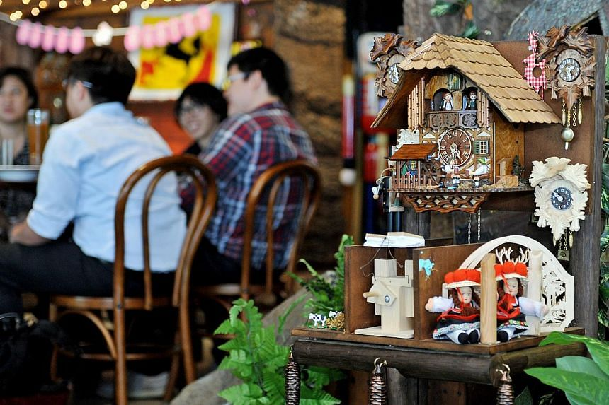 Stuttgart Blackforest Boutique S-Cafe.-- PHOTO: LIM YAOHUI FOR THE STRAITS TIMES