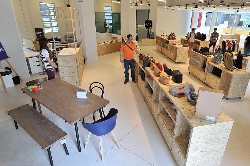 National Design Centre.-- PHOTO: LIM YAOHUI FOR THE STRAITS TIMES