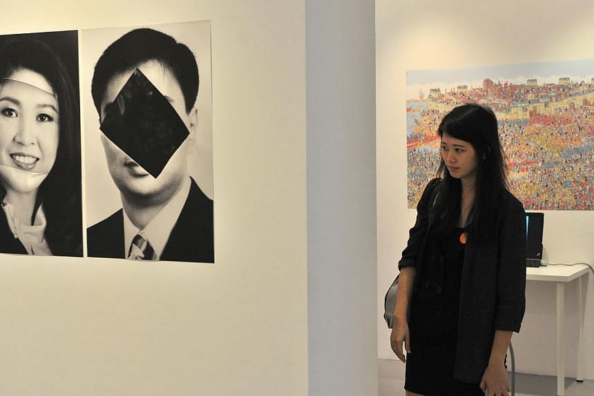 2902 Gallery.-- PHOTO: LIM YAOHUI FOR THE STRAITS TIMES