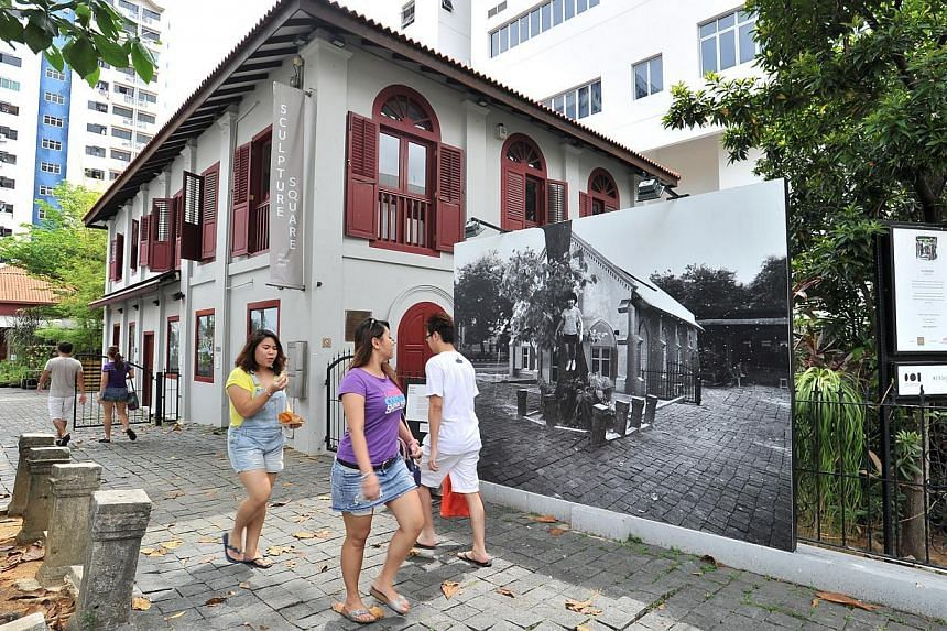 Sculpture Square.-- PHOTO: LIM YAOHUI FOR THE STRAITS TIMES