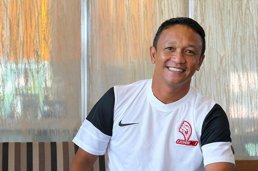 """With the Malaysian Super League (MSL) now at the halfway stage, Fandi Ahmad's report card for his LionsXII side reads """"good but there is room for improvement"""". -- NP FILE PHOTO:GARY GOH"""