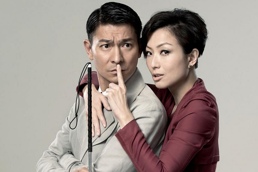 Blind Detective starring Andy Lau and Sammi Cheng (right). -- FILE PHOTO: GOLDEN VILLAGE PICTURES