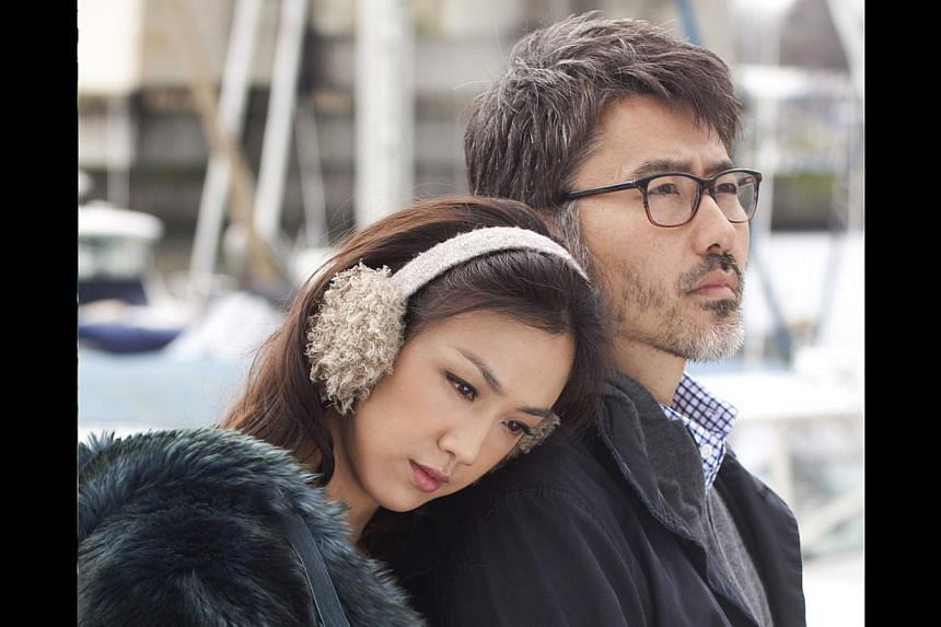 Finding Mr Right starring Tang Wei (left) and Wu Xiubo. -- FILE PHOTO: GOLDEN VILLAGE PICTURES PTE LTD/CINEMA STILL