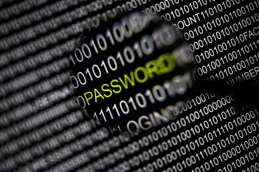 File picture illustration of the word 'password' pictured through a magnifying glass on a computer screen, taken in Berlin on May 21, 2013.The US National Security Agency on Friday denied a report claiming it was aware of and even exploited the