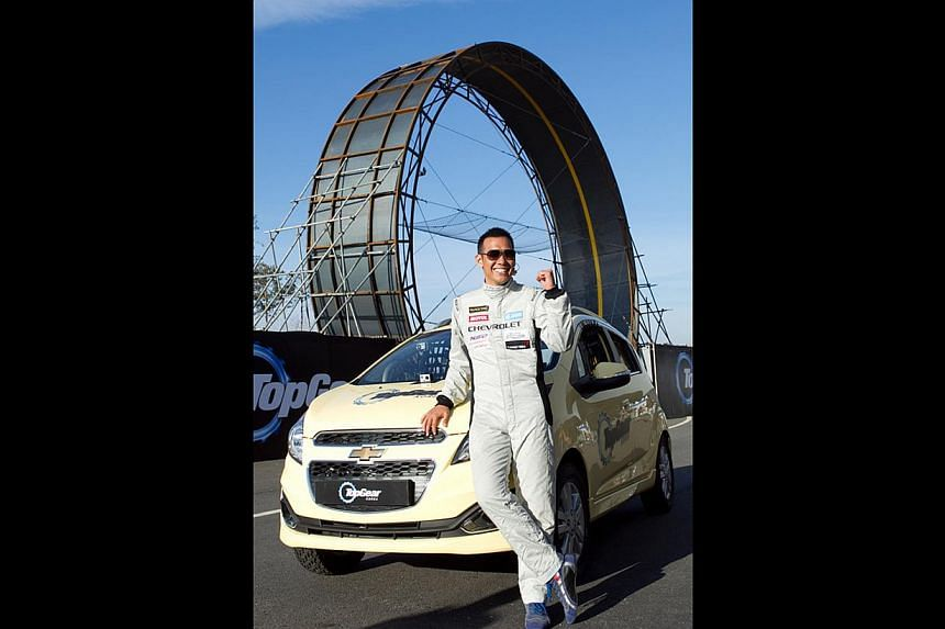 Top Gear Korea host Kim Jin Pyo has been in accidents but that has not dimmed his love for racing. -- PHOTO: KIX & KIX HD
