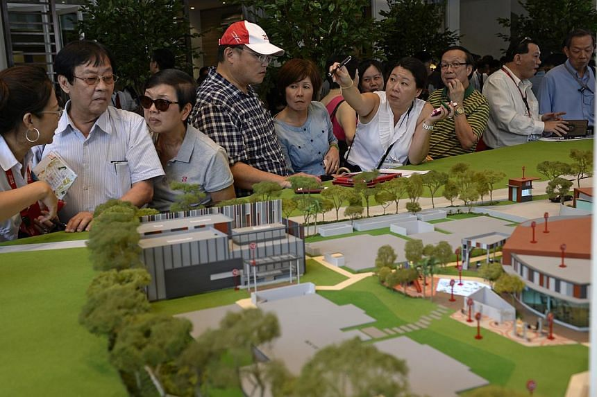LIKELY BEST-SELLERS: The 281-unit The Hillford (above) sold out on its launch day. Rivertrees Residences and Riverbank @ Fernvale are also likely top first-quarter sellers. -- PHOTOS: DESMOND LIM, FRASERS CENTREPOINT, UOL