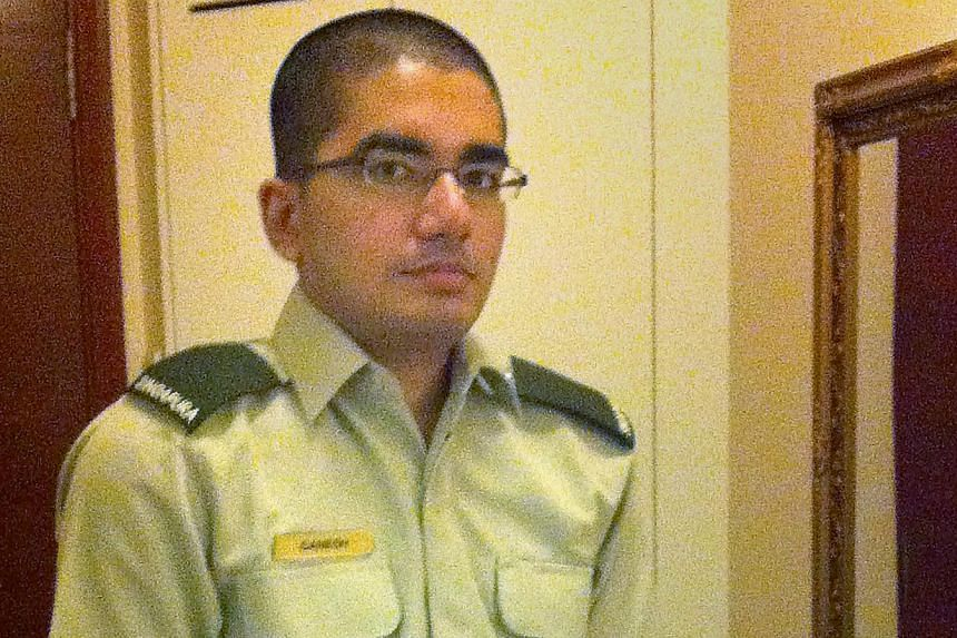 Pte Ganesh had been diagnosed with schizophrenia, but the medical officer where he was posted was not informed of this.