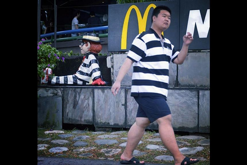It was farewell to the widely loved McDonald's outlet at the King Albert Park complex, which has been sold to Oxley Holdings. -- ST PHOTO: MARK CHEONG