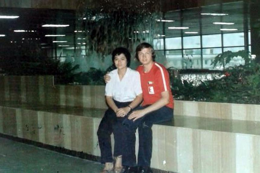 (Above) Ms Colleen Turzynski's Singaporean mother, Lee Kui Yin, and Polish father, Kazimierz Turzynski. Her parents and Polish grandfather were murdered in a stabbing attack in New Jersey in 1990, when Colleen was just 17 months old. It was a week be