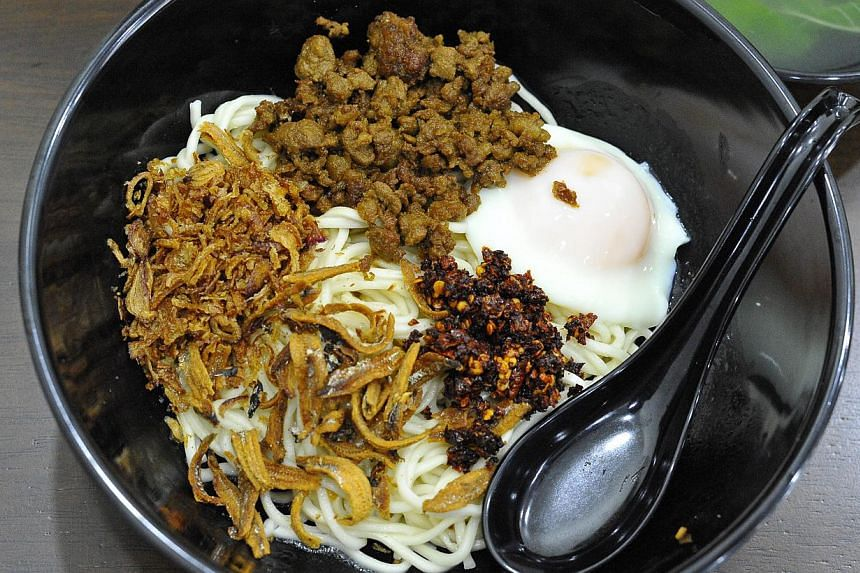 Signature dry ban mian. -- PHOTO: DIOS VINCOY JR FOR THE SUNDAY TIMES