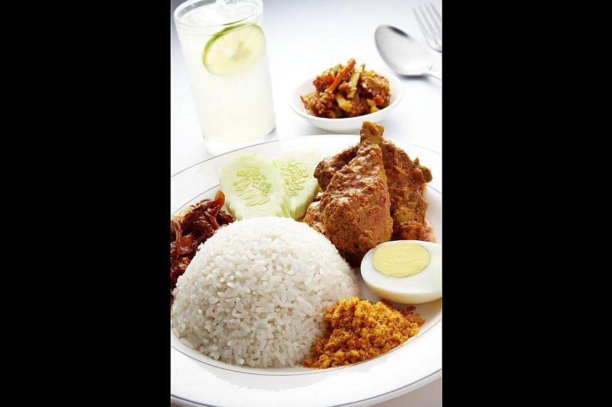 Nasi lemak. -- PHOTO: MADAM KWAN'S