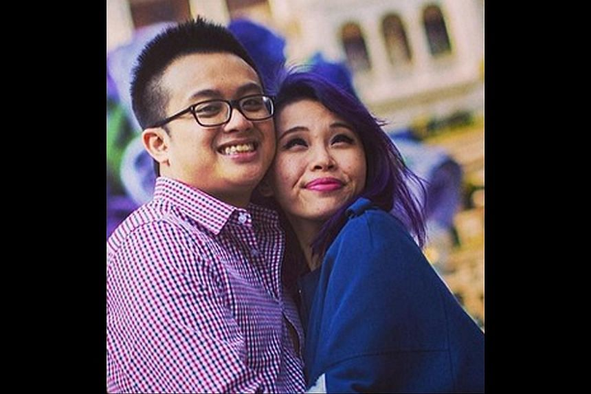 Husband-and-wife team Ryan Tan and Silvia Chan (above), both 26. -- PHOTO: RYAN TAN